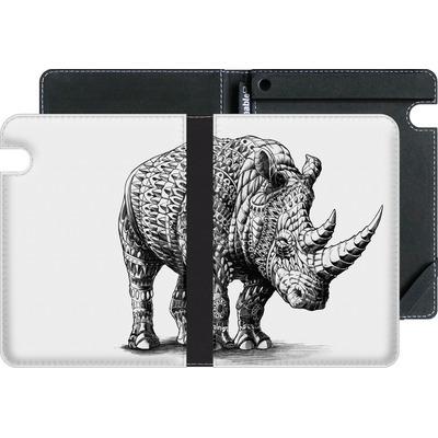 Amazon Kindle Voyage eBook Reader Huelle - Rhinoceros von BIOWORKZ