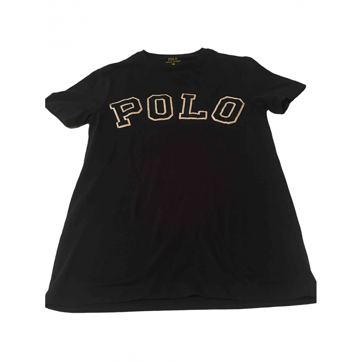Polo Ralph Lauren - Top   pour femme en coton - noir