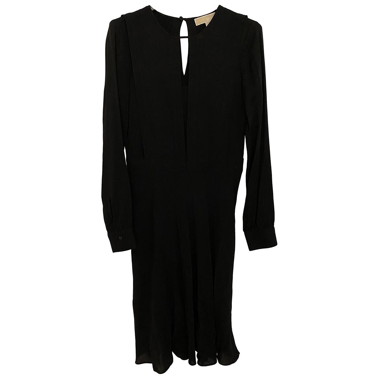 Michael Kors \N Kleid in  Schwarz Seide