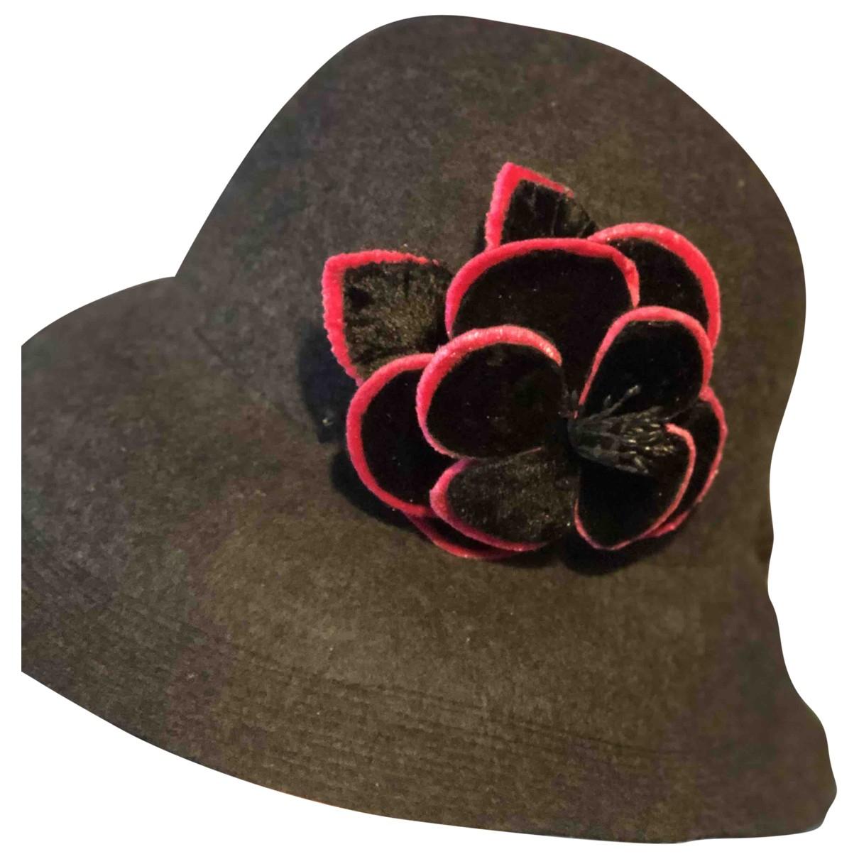 Authentic Panama \N Grey hat for Women 57 cm