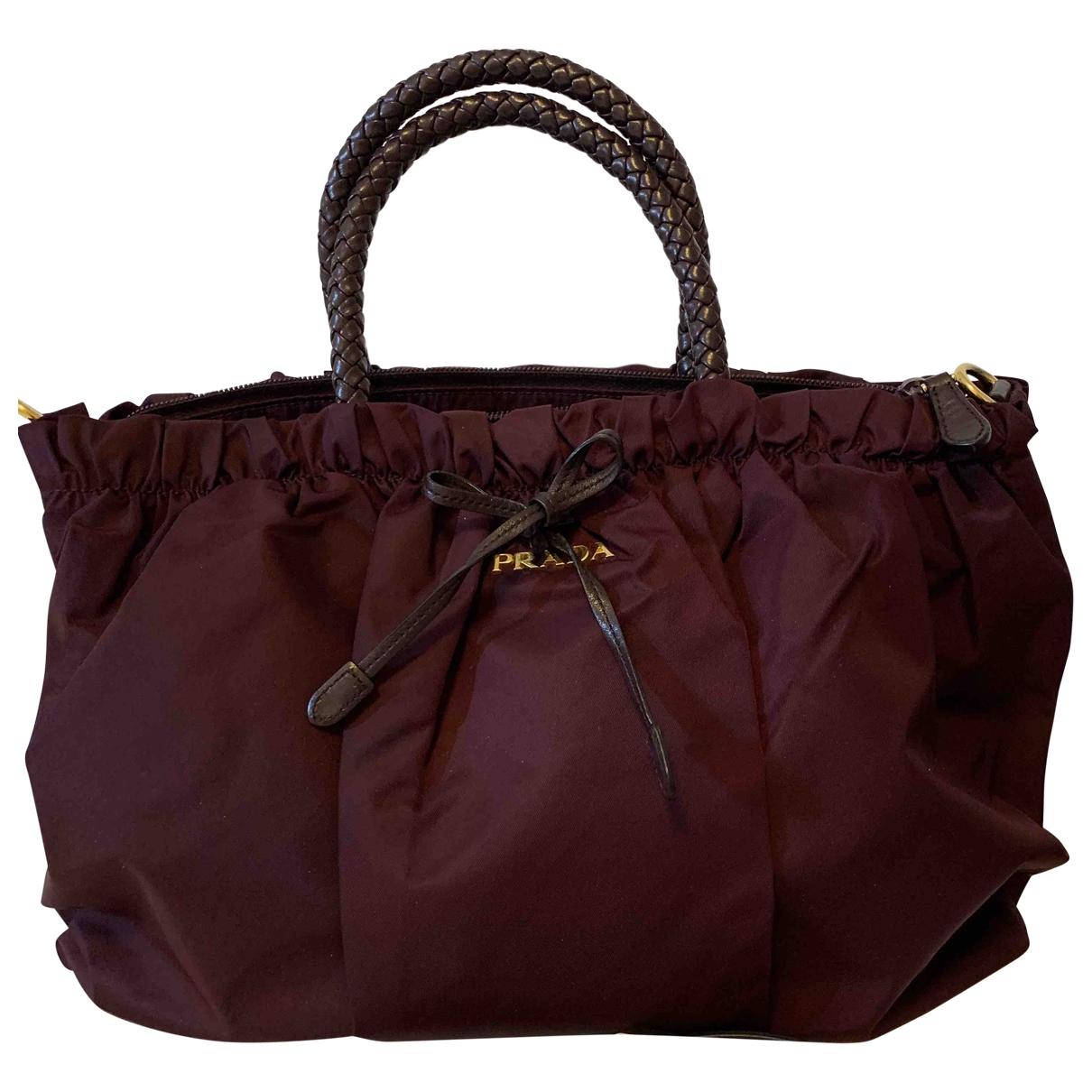 Prada \N Handtasche in  Lila Polyester
