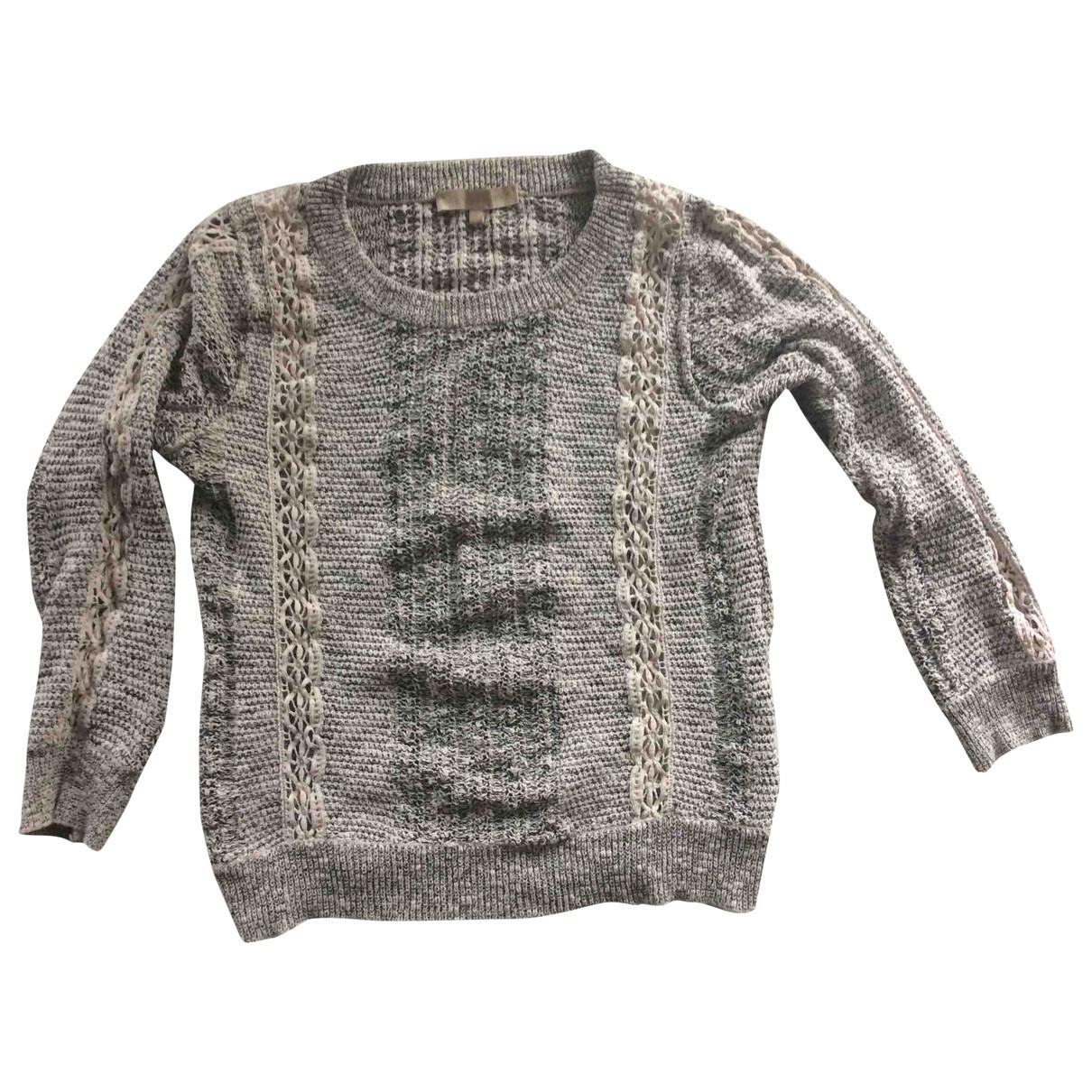 Vanessa Bruno \N Grey Cotton Knitwear for Women 40 FR