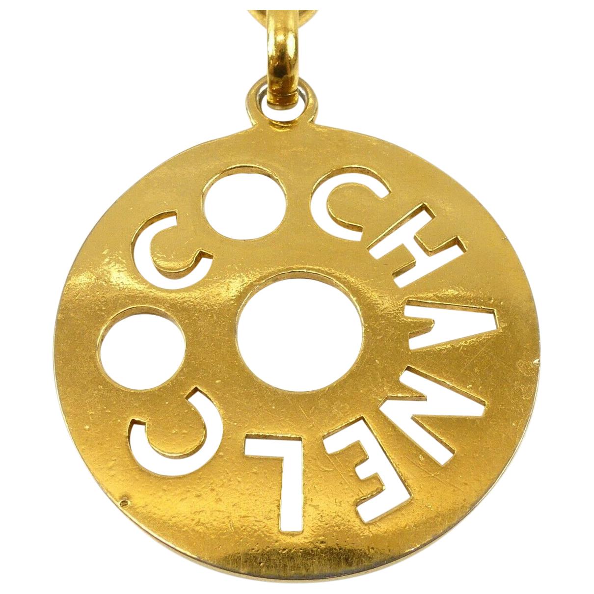 Chanel - Sautoir CHANEL pour femme en metal - dore