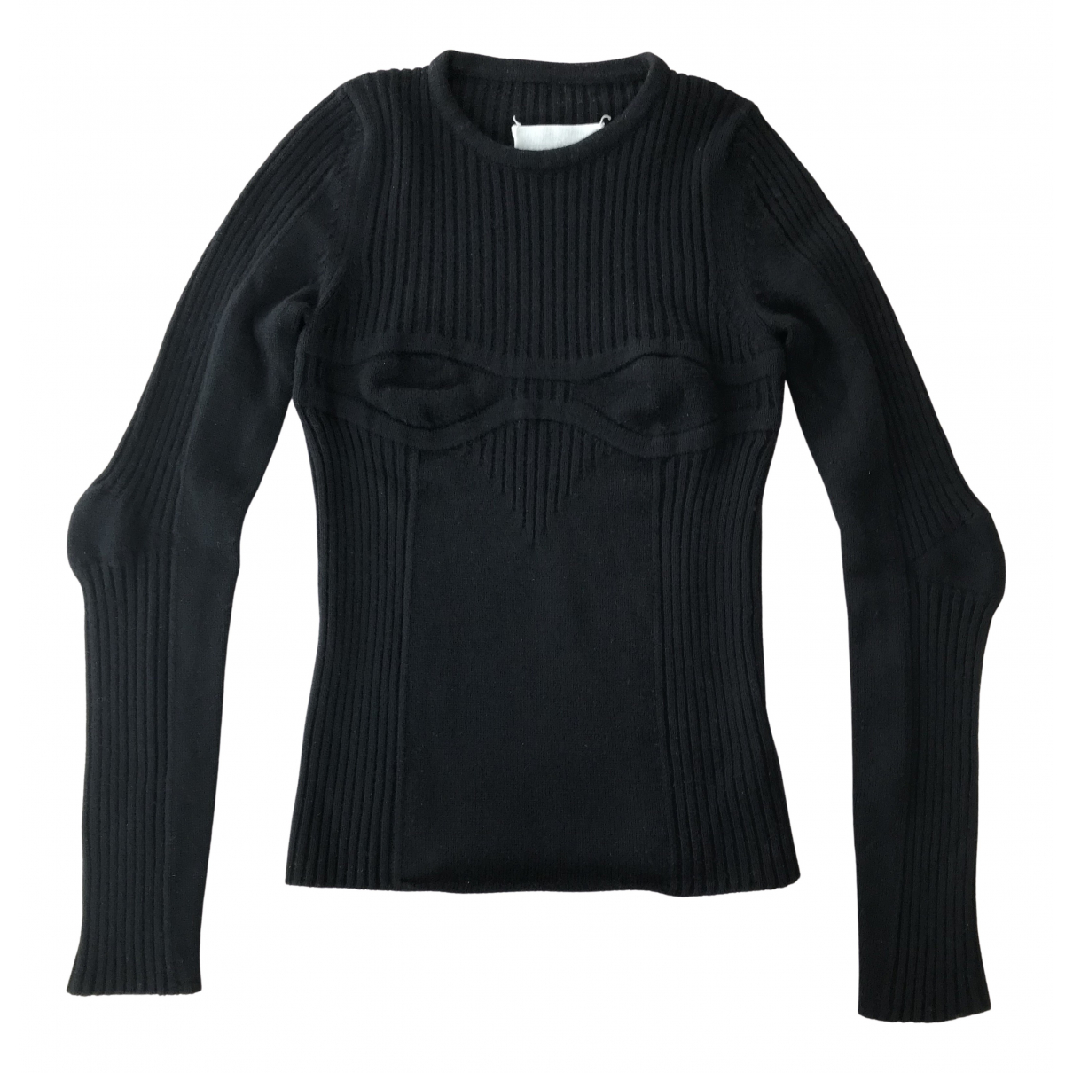 Maison Martin Margiela - Pull   pour femme en laine - noir