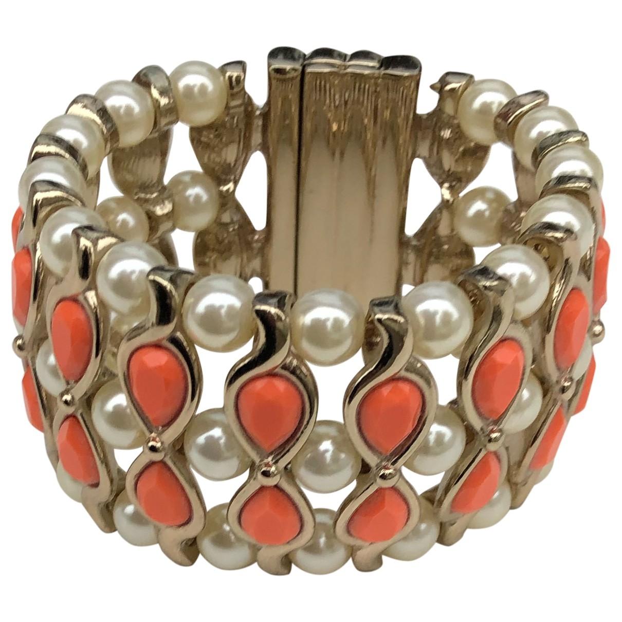 Anna Dello Russo Pour H&m - Bracelet   pour femme en metal - orange