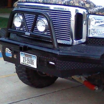 Ranch Hand Legend BullNose Series Front Bumper (Black) - BTF051BLR
