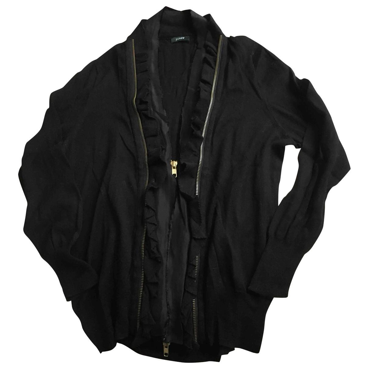 J.crew - Pull   pour femme en laine - noir