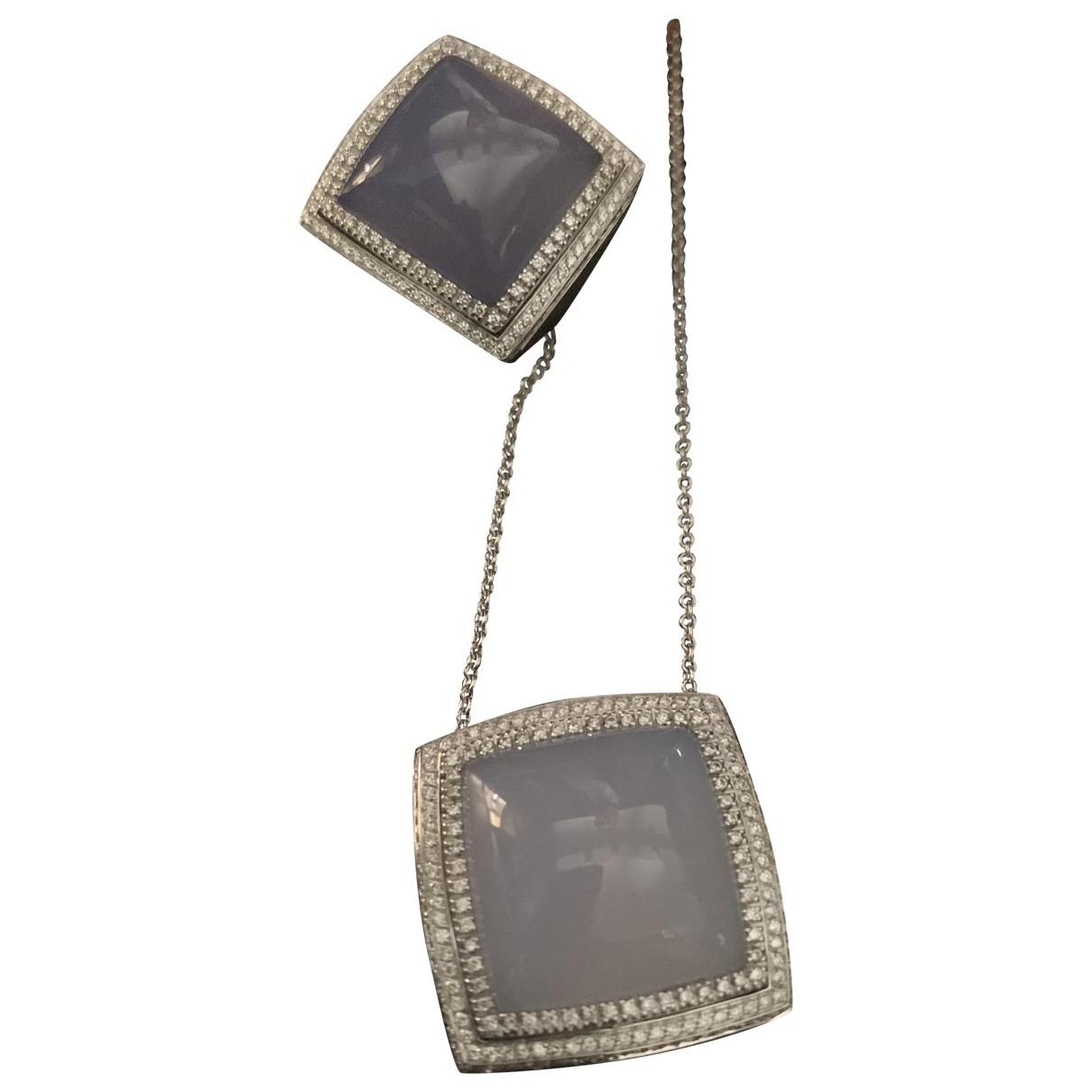 Crivelli \N White gold Jewellery set for Women \N