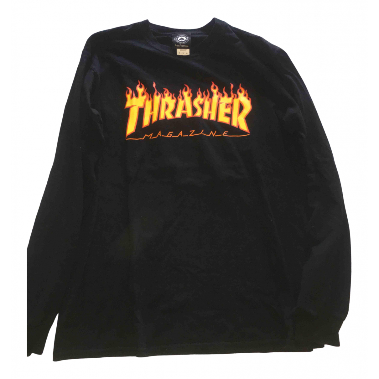 Thrasher Magazine \N Black Cotton Knitwear & Sweatshirts for Men M International
