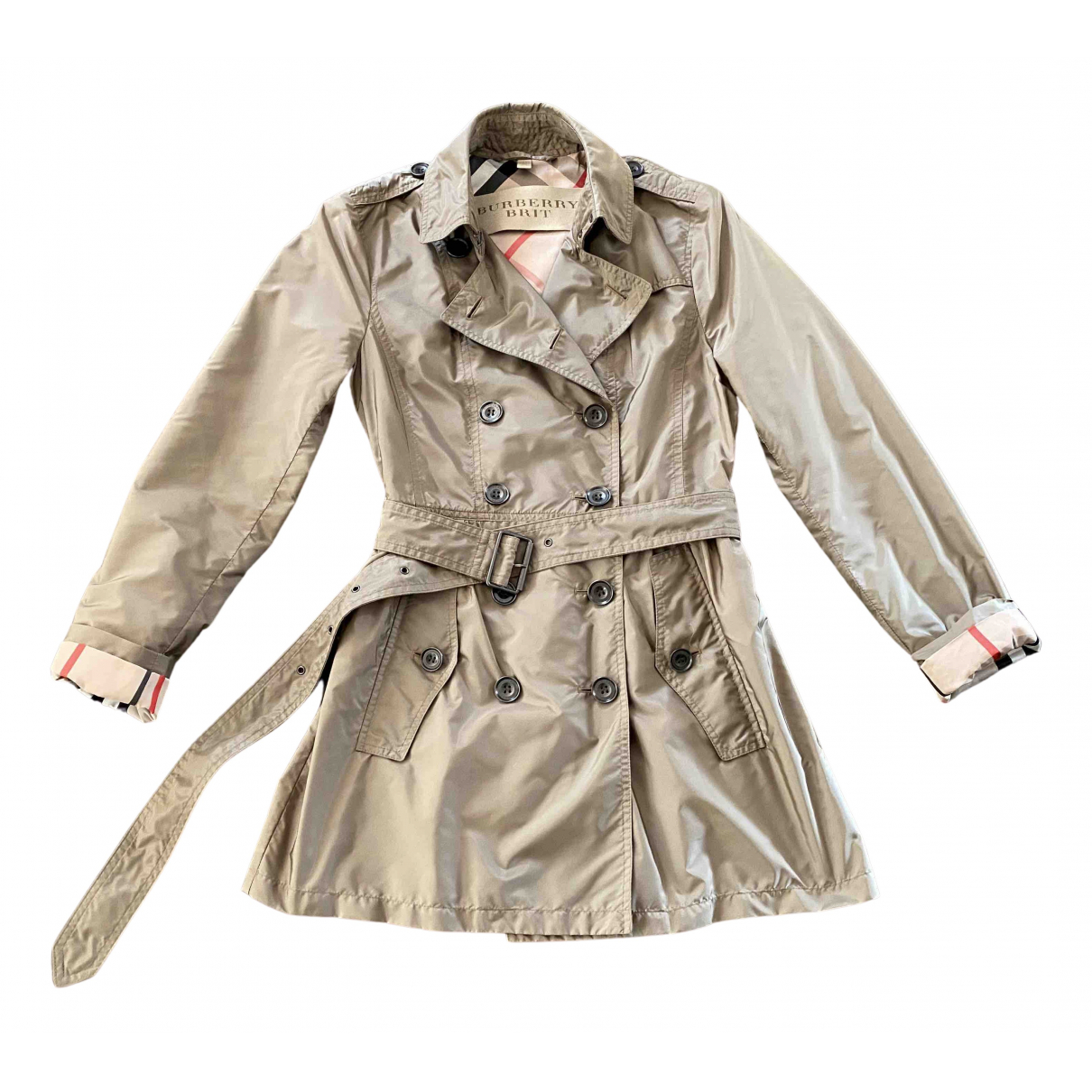 Burberry N Beige Trench coat for Women 36 FR