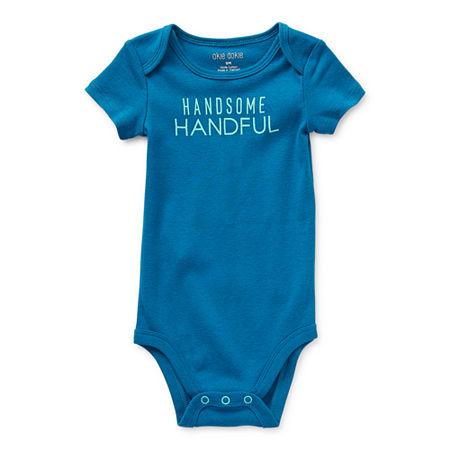 Okie Dokie Baby Boys Bodysuit, 24 Months , Blue