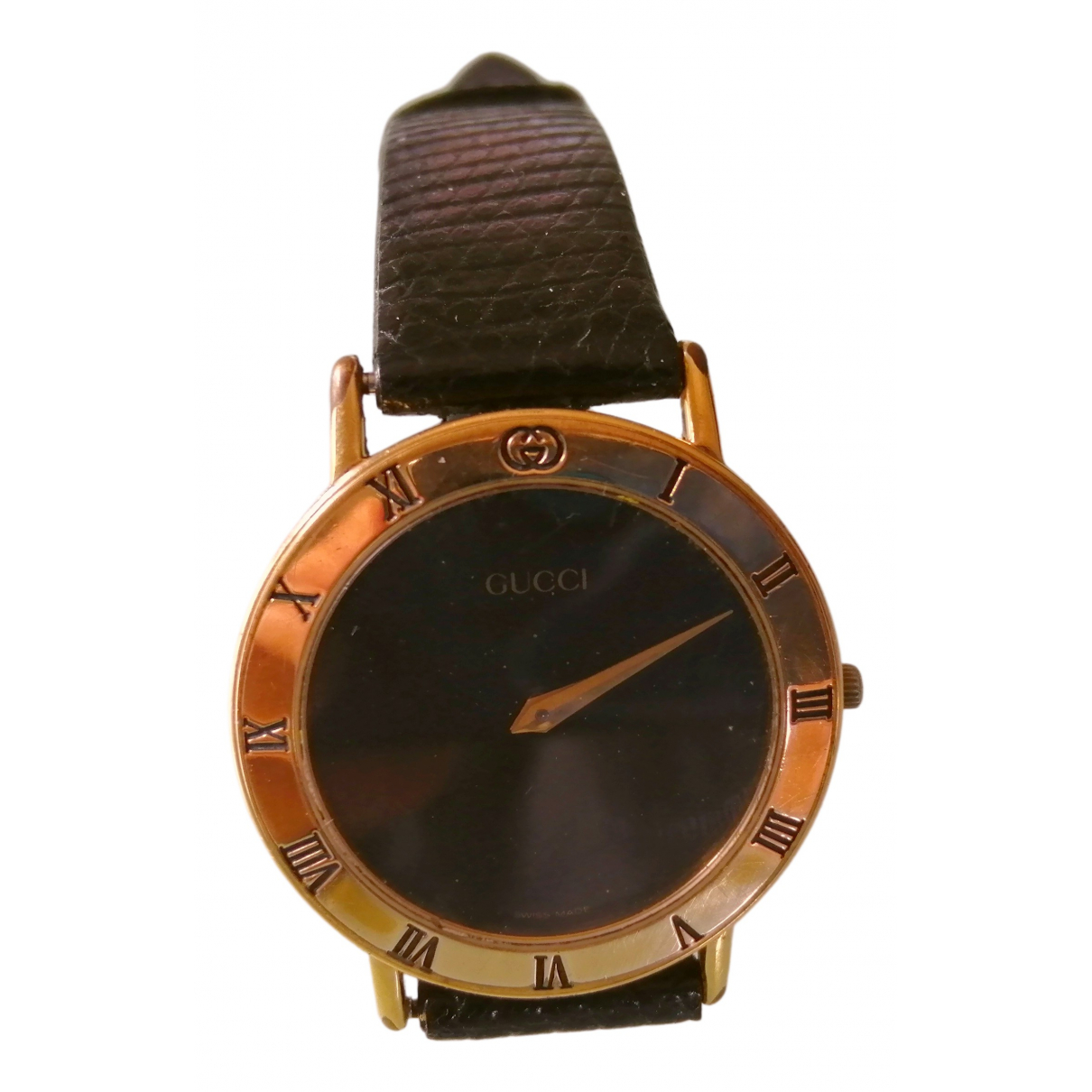Gucci \N Uhr in  Gold Vergoldet