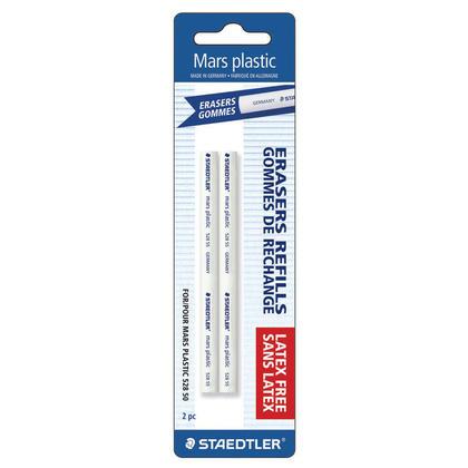 Staedtler Mars@ Plastic Eraser Refills, 2/Pack 799650