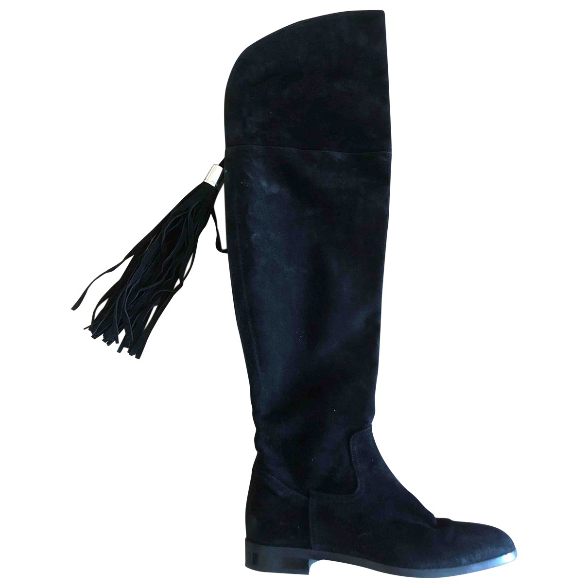 Russell & Bromley \N Black Suede Boots for Women 39 EU