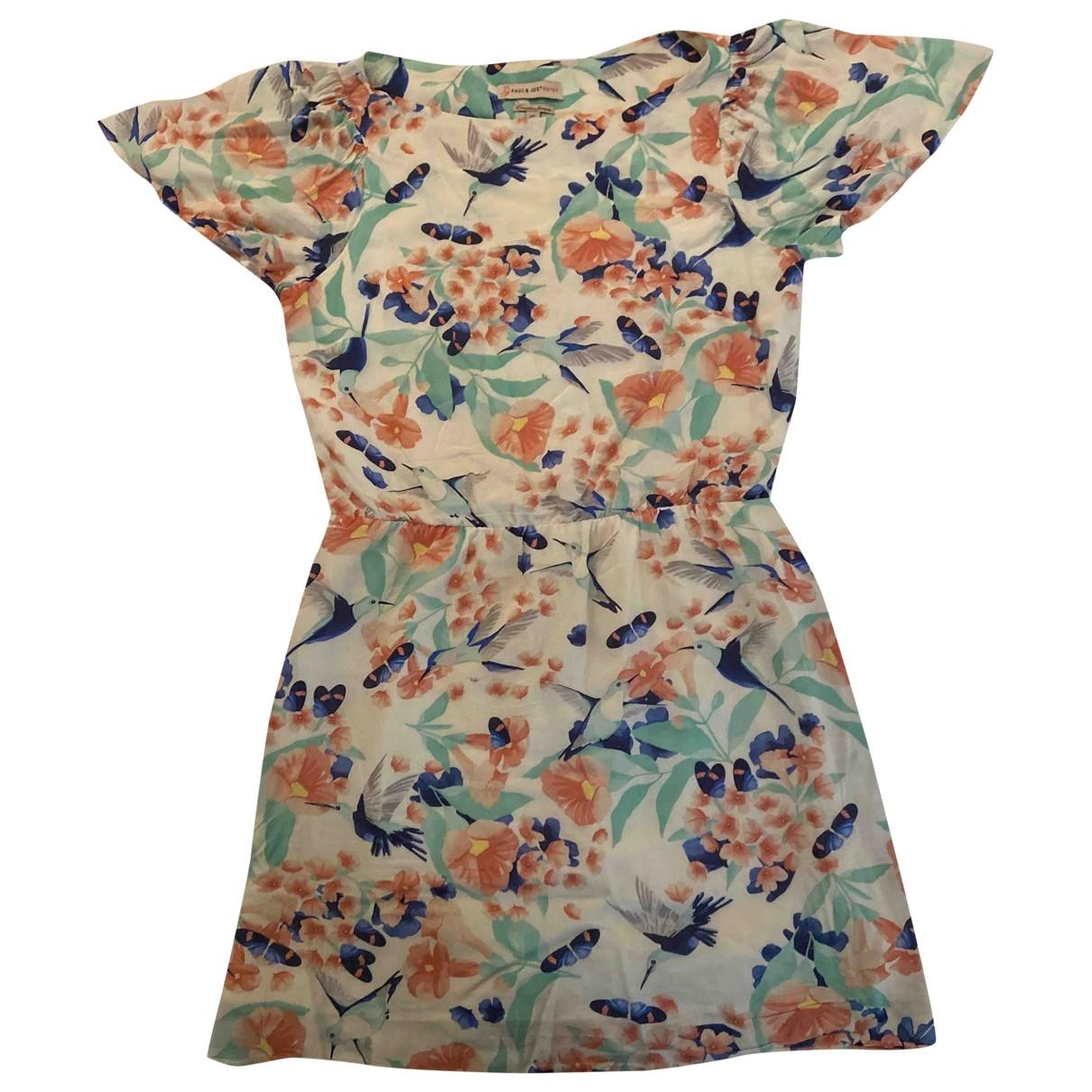 Paul & Joe Sister \N Multicolour Cotton dress for Women 38 FR