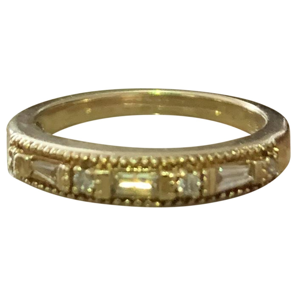 Non Signe / Unsigned Alliance Ring in  Gold Gelbgold