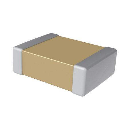 KEMET 0402 (1005M) 2.2nF Multilayer Ceramic Capacitor MLCC 50V dc ±10% SMD C0402C222K5RACAUTO (10000)