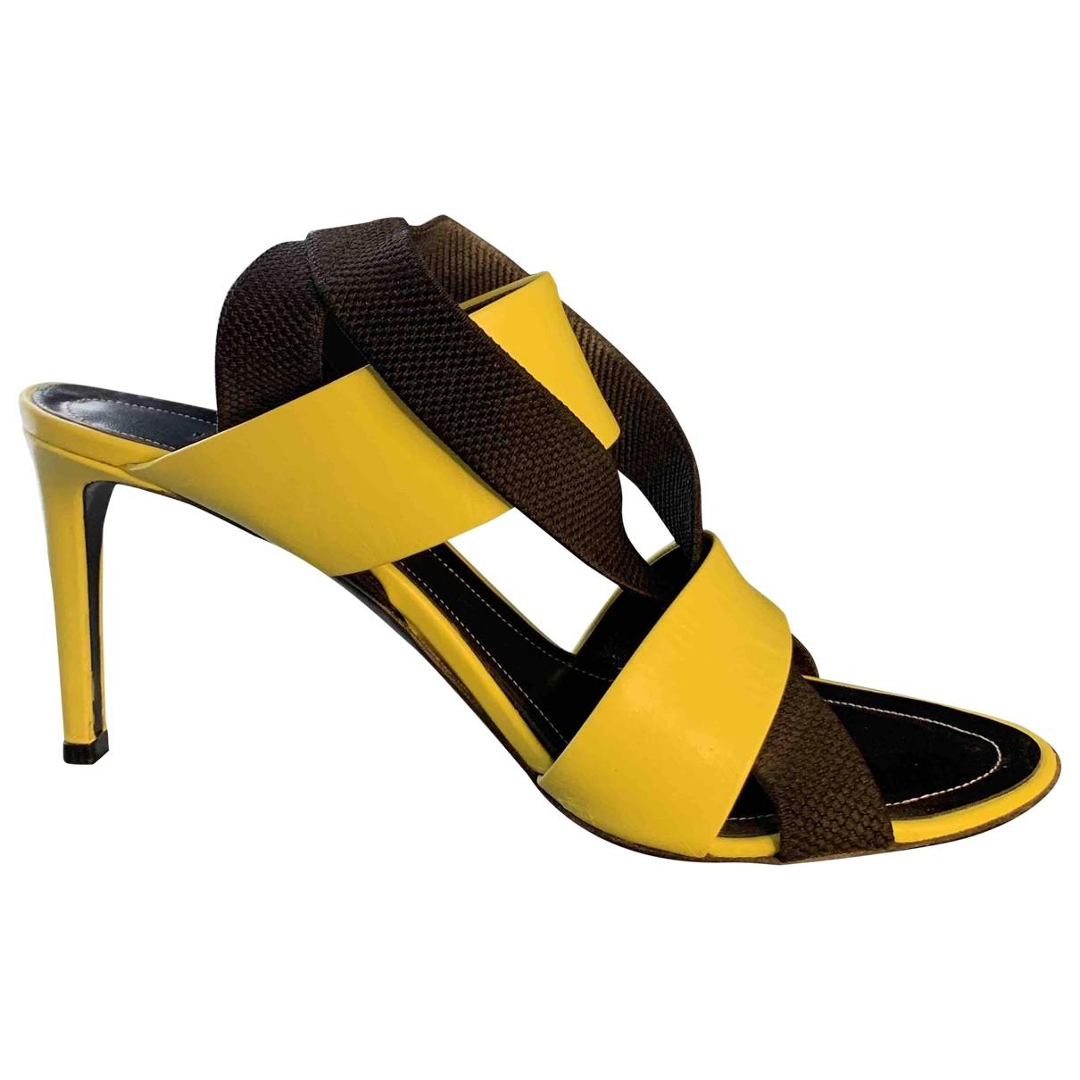 Balenciaga \N Multicolour Leather Sandals for Women 38.5 EU