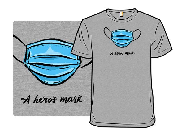 A Heros Mask T Shirt