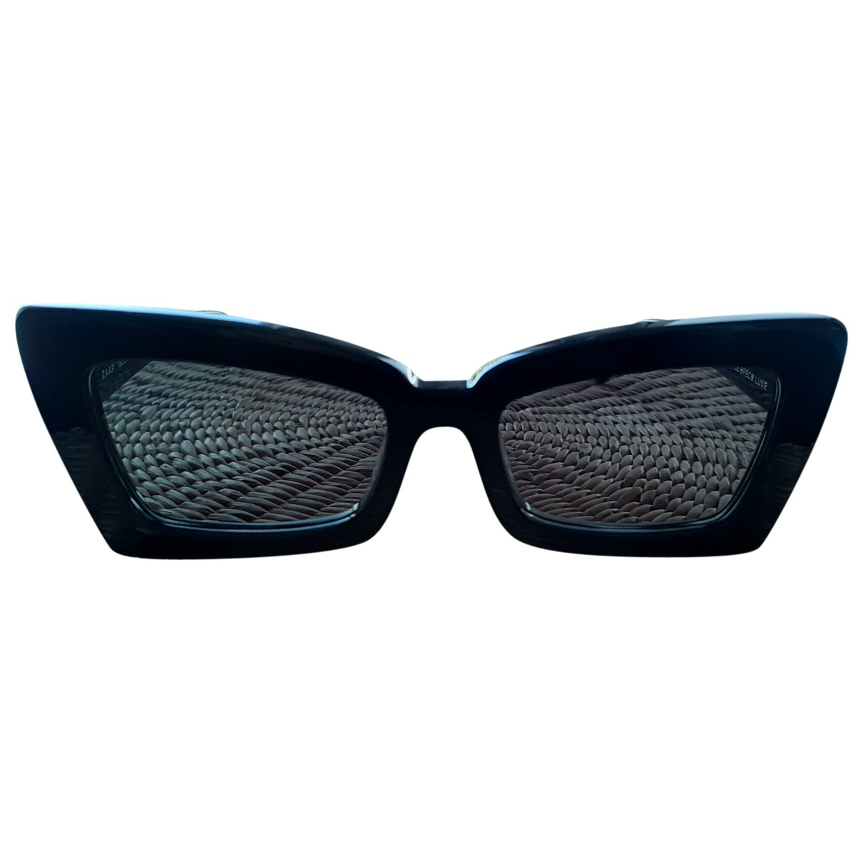 Le Specs \N Black Sunglasses for Women \N
