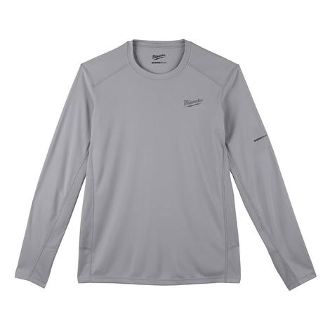 Milwaukee Workskin™ Lightweight Performance Shirt - Long Sleeve - Gray L