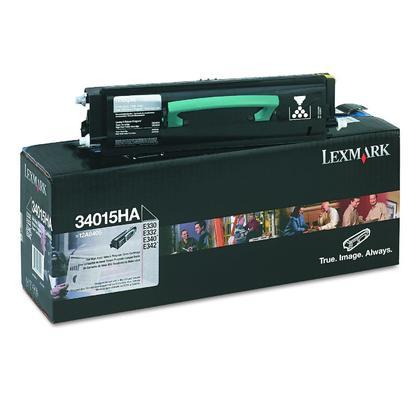 Lexmark 34015HA cartouche de toner du programme retour originale noire haute capacité