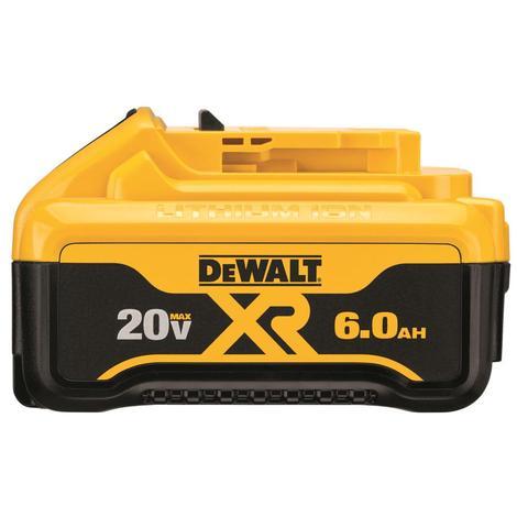 DeWalt 20 V MAX Premium XR 6.0 Ah Lithium Ion Battery Pack