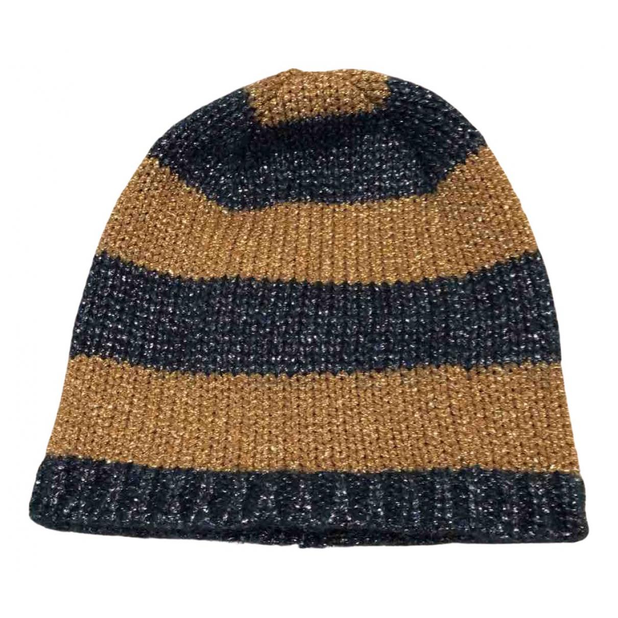 Gucci - Chapeau   pour femme en laine - dore