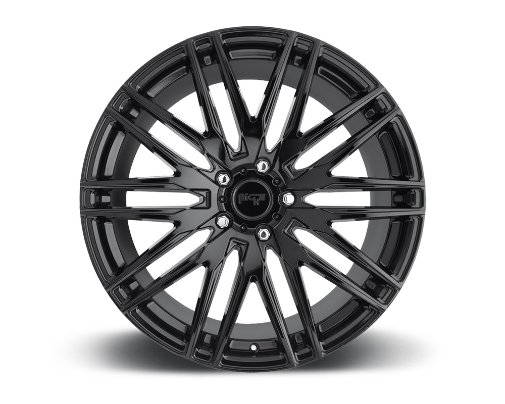 Niche M164 Anzio Gloss Black 1-Piece Cast Wheel 22x9 5x114.3 38mm