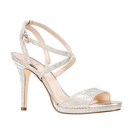 I. Miller Womens Rabeca Heeled Sandals, 8 1/2 Medium, Yellow