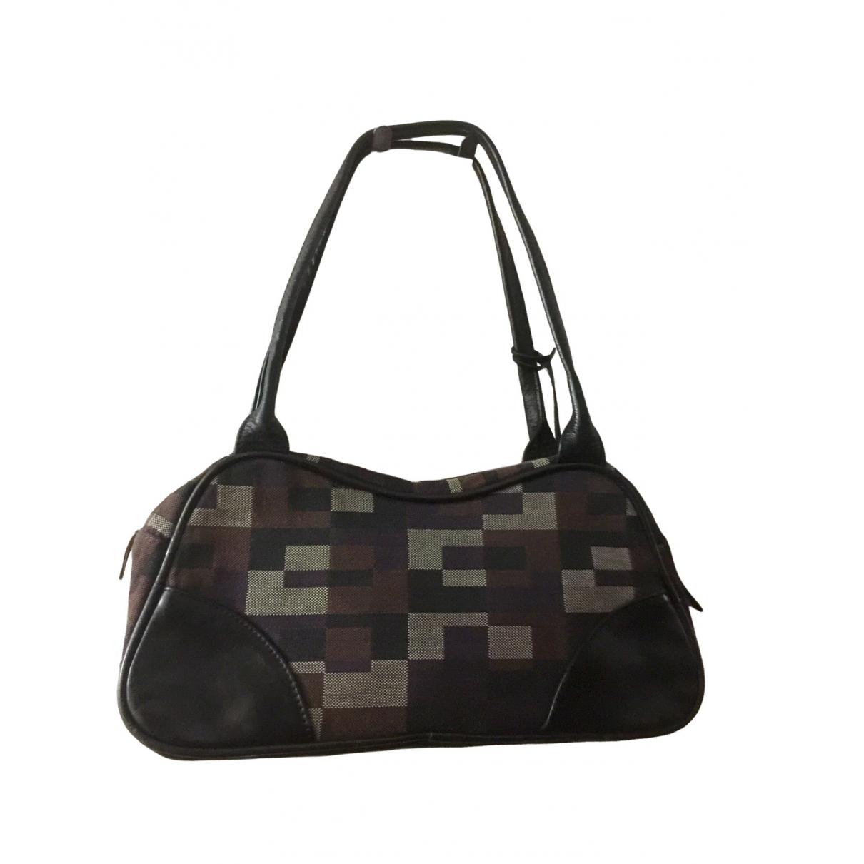 Russell & Bromley \N Handtasche in  Bunt Leinen