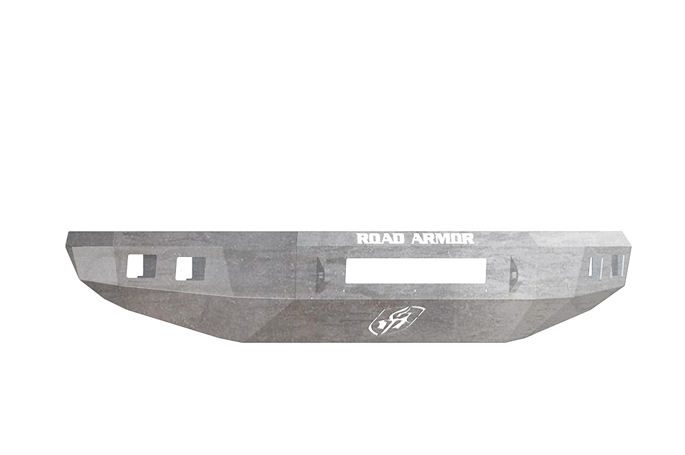 TOYOTA Front Winch Bumper Square Light Ports TUNDRA 14-18 RAW Road Armor 914R0Z-NW Stealth Series