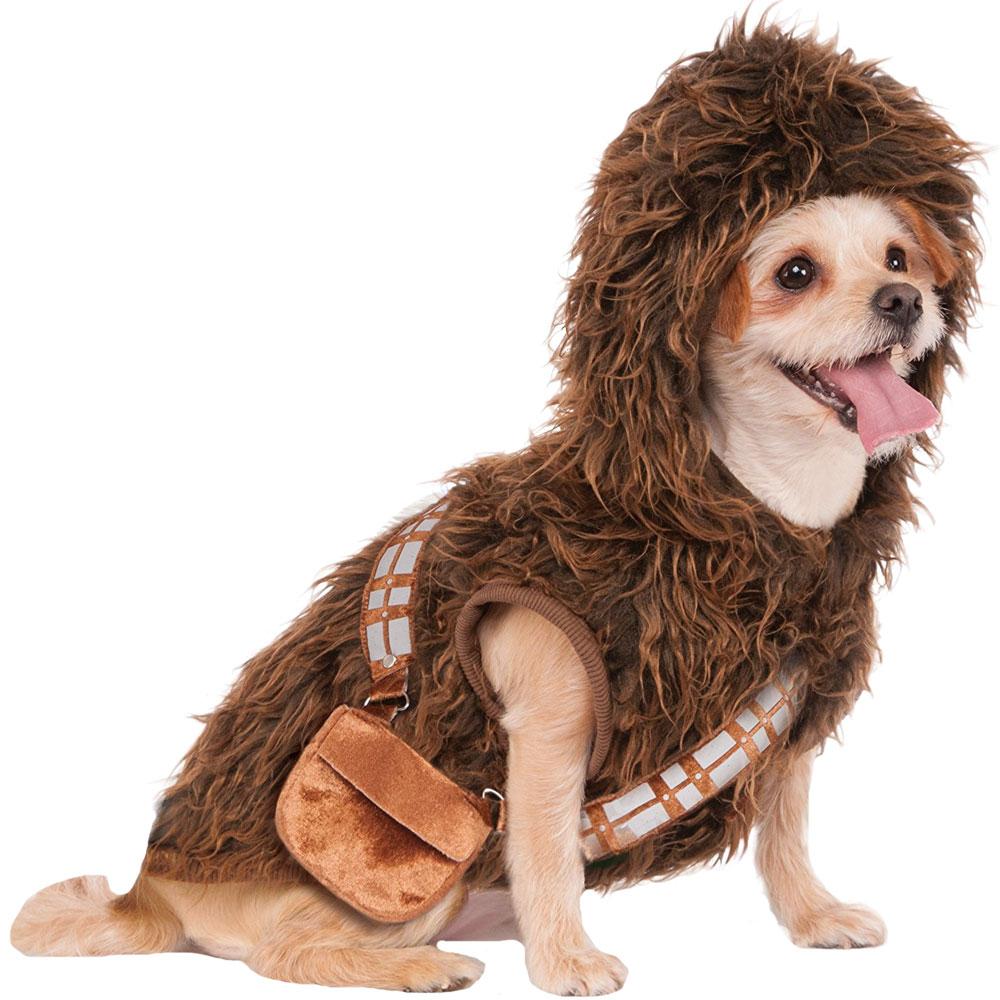 Star Wars Chewbacca Hoodie Dog Costume - Large
