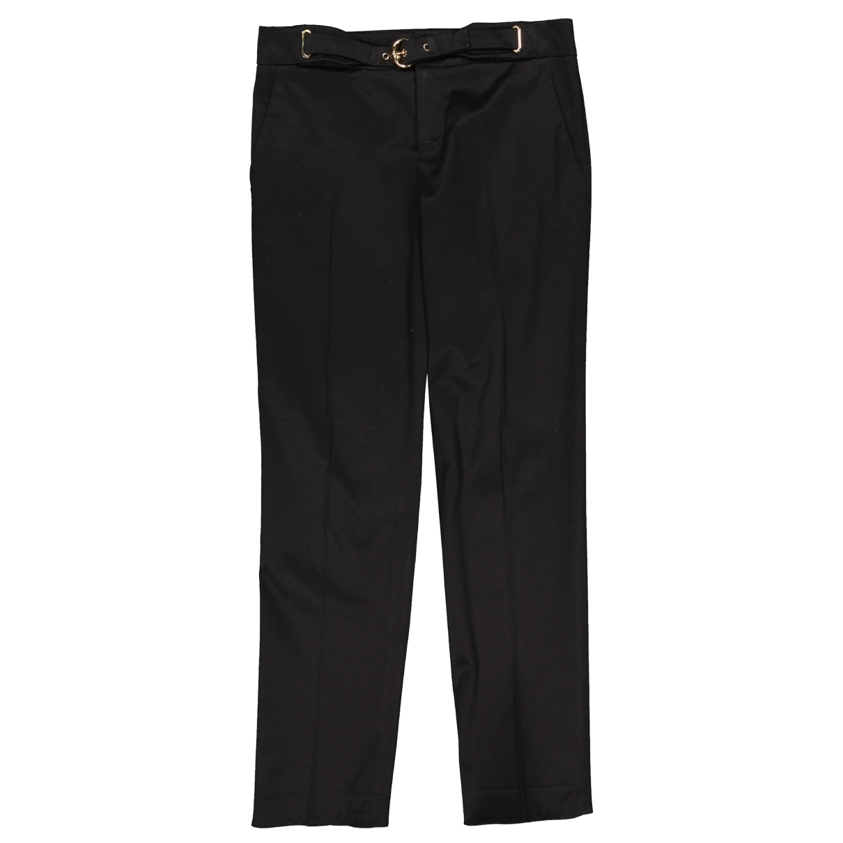 Gucci \N Black Cotton Trousers for Women 38 IT