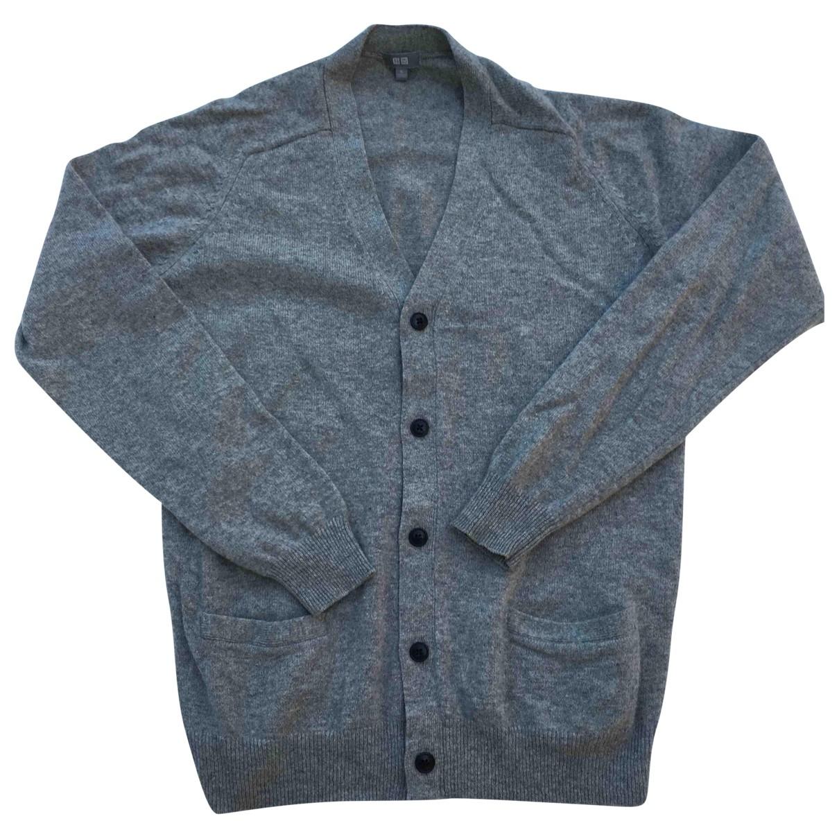 Uniqlo \N Grey Wool Knitwear & Sweatshirts for Men XL International