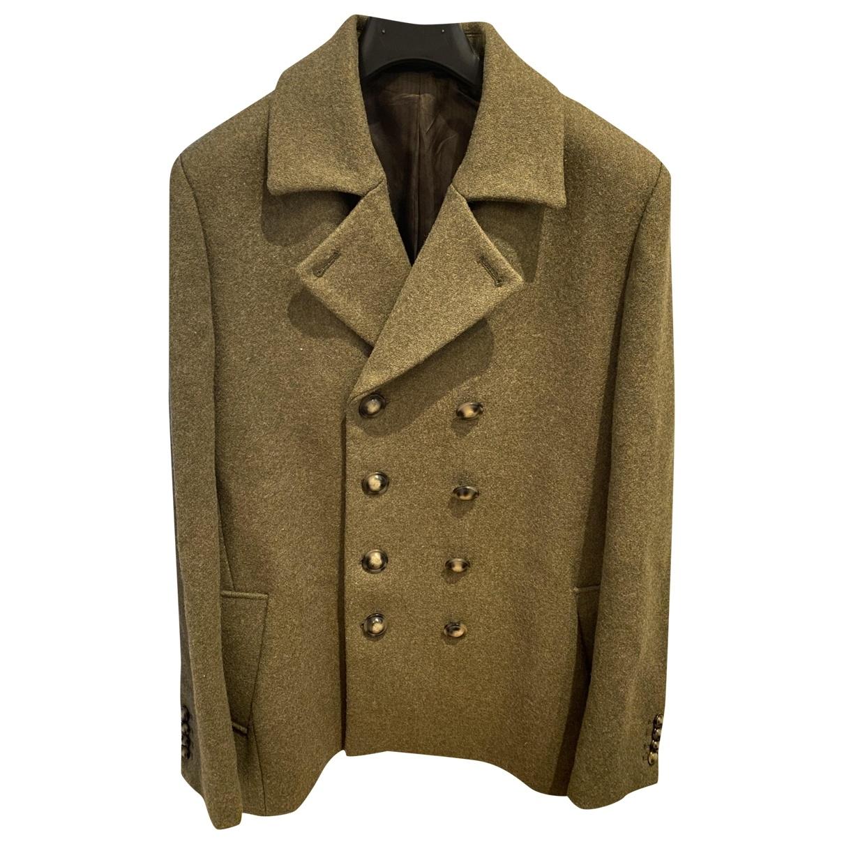 Paul & Joe \N Khaki Wool coat  for Men 48 IT