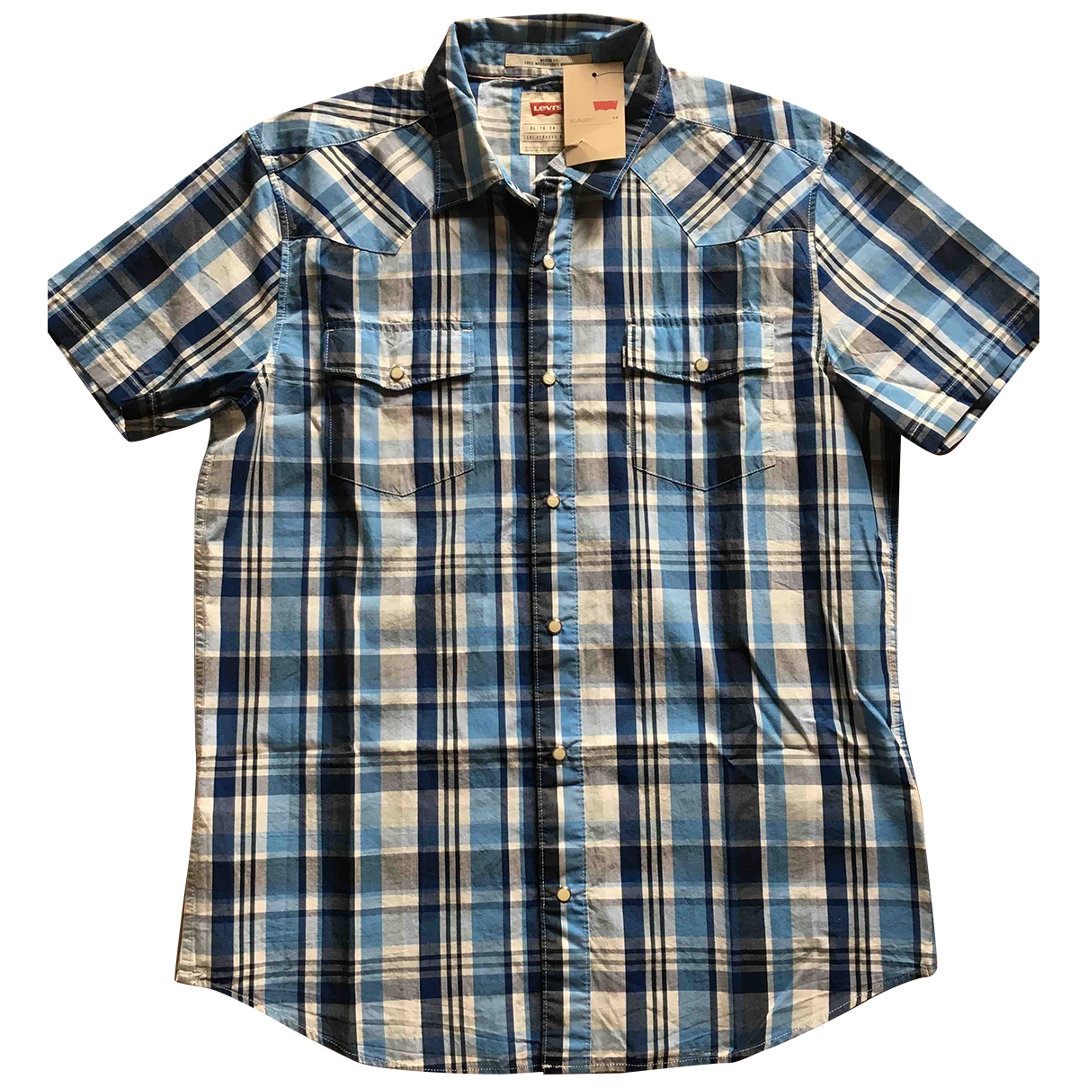 Levis \N Hemden in  Blau Baumwolle