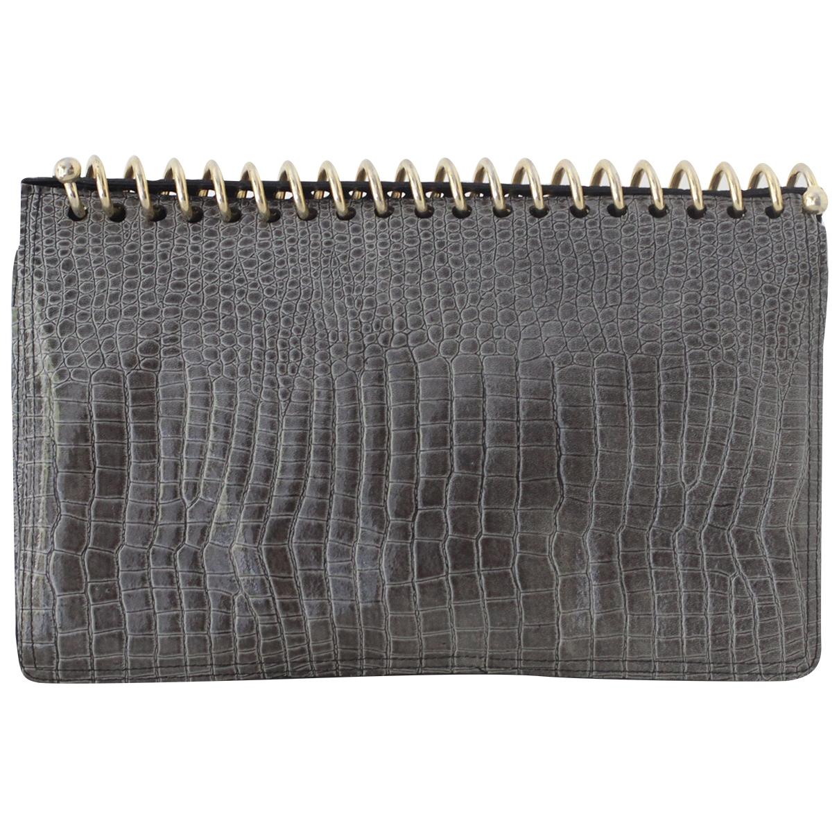 Moschino - Objets & Deco   pour lifestyle en cuir - gris