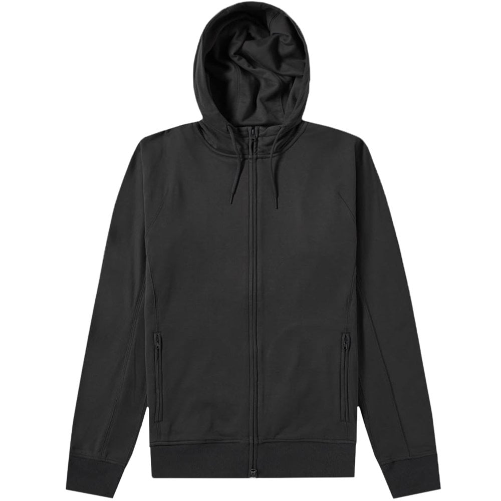 Y-3 Classic Logo Zip Hoodie Colour: CARBON, Size: SMALL