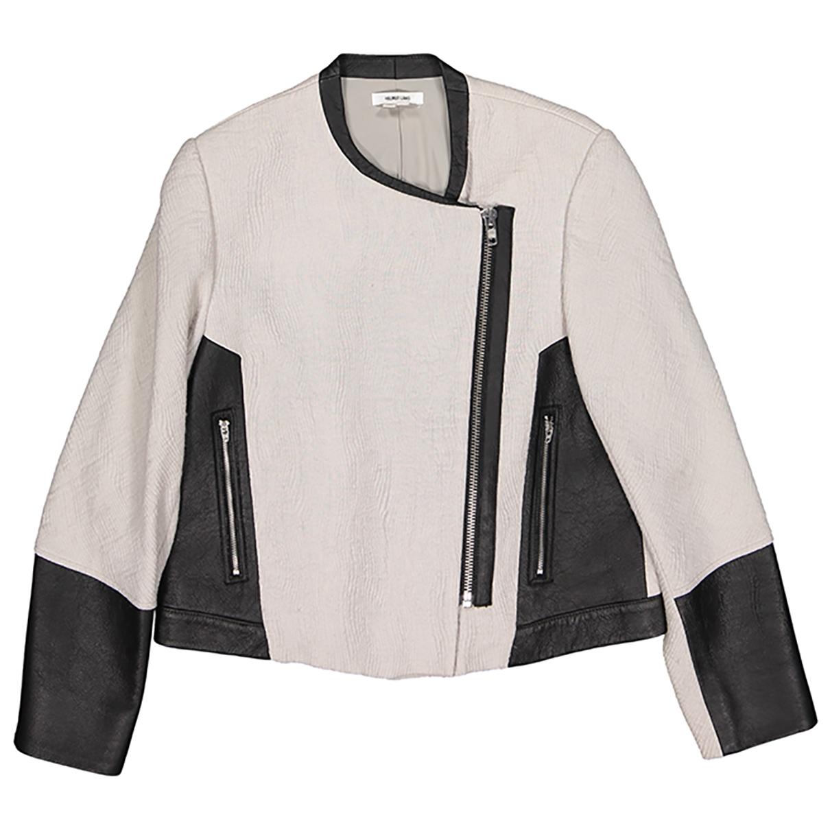 Helmut Lang \N Grey Wool jacket for Women 2 US
