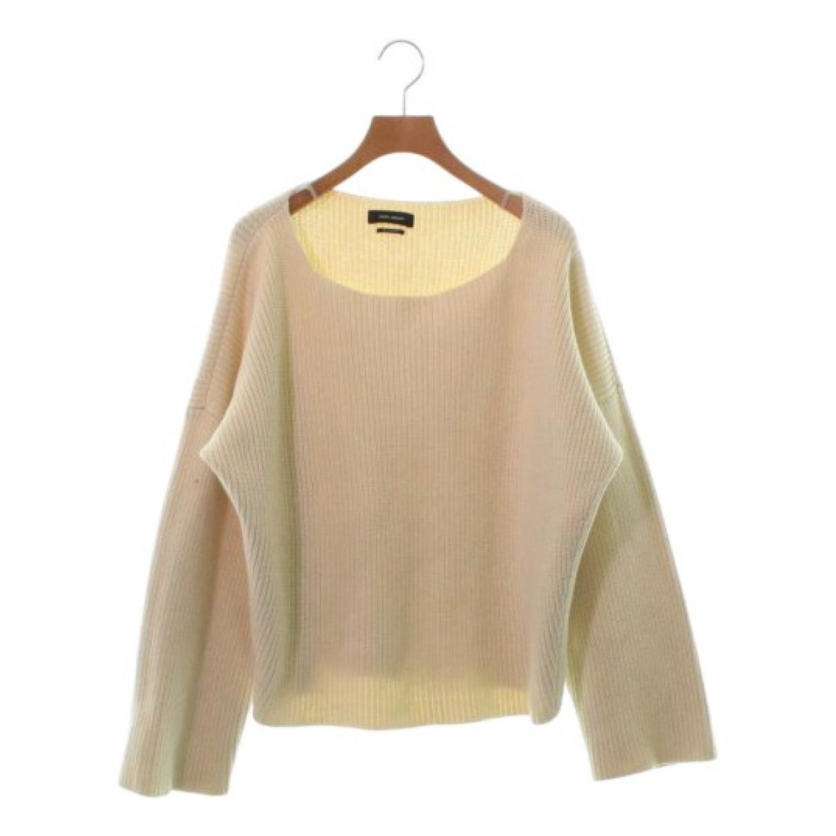 Isabel Marant \N Pullover in  Beige Baumwolle