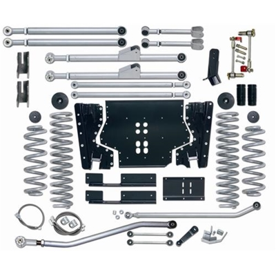 Rubicon Express 3.5 Inch Extreme-Duty Long Arm Lift Kit with Rear Track Bar - No Shocks - RE7223