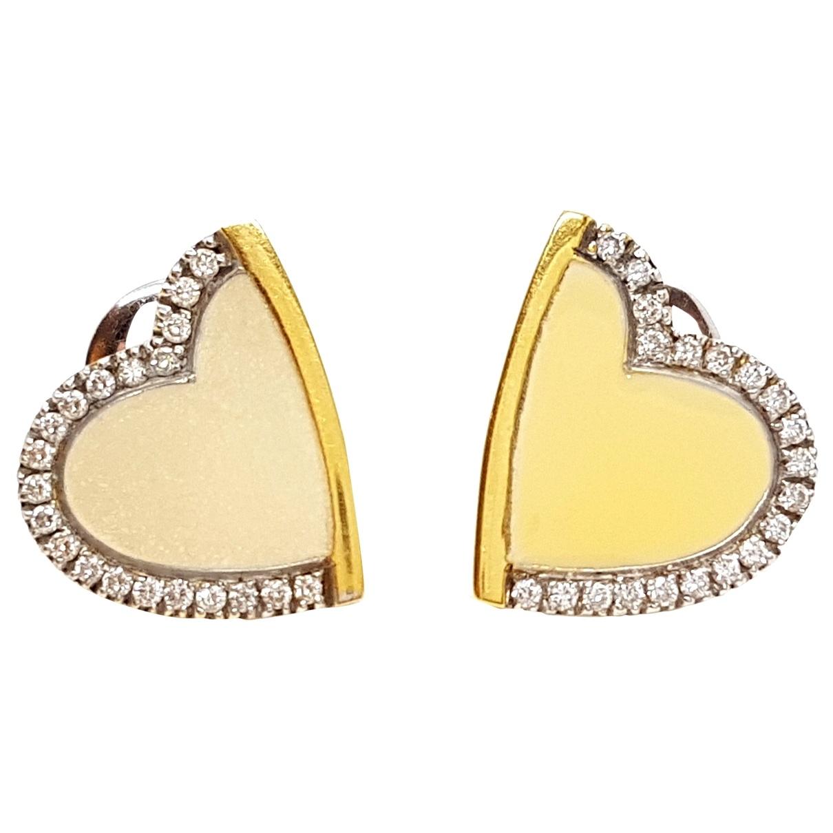 Roberto Coin - Boucles doreilles   pour femme en or jaune - argente