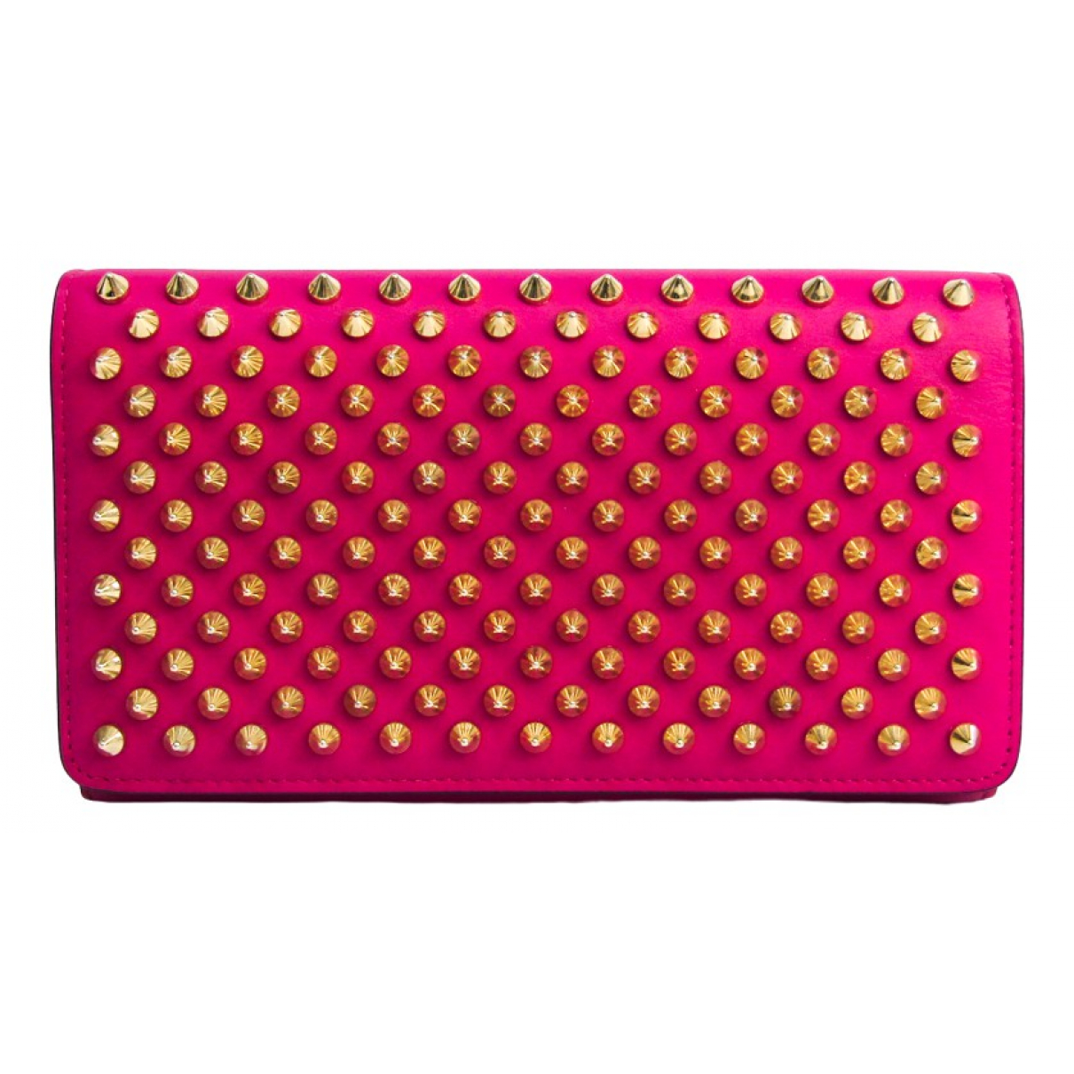 Christian Louboutin \N Pink Leather wallet for Women \N
