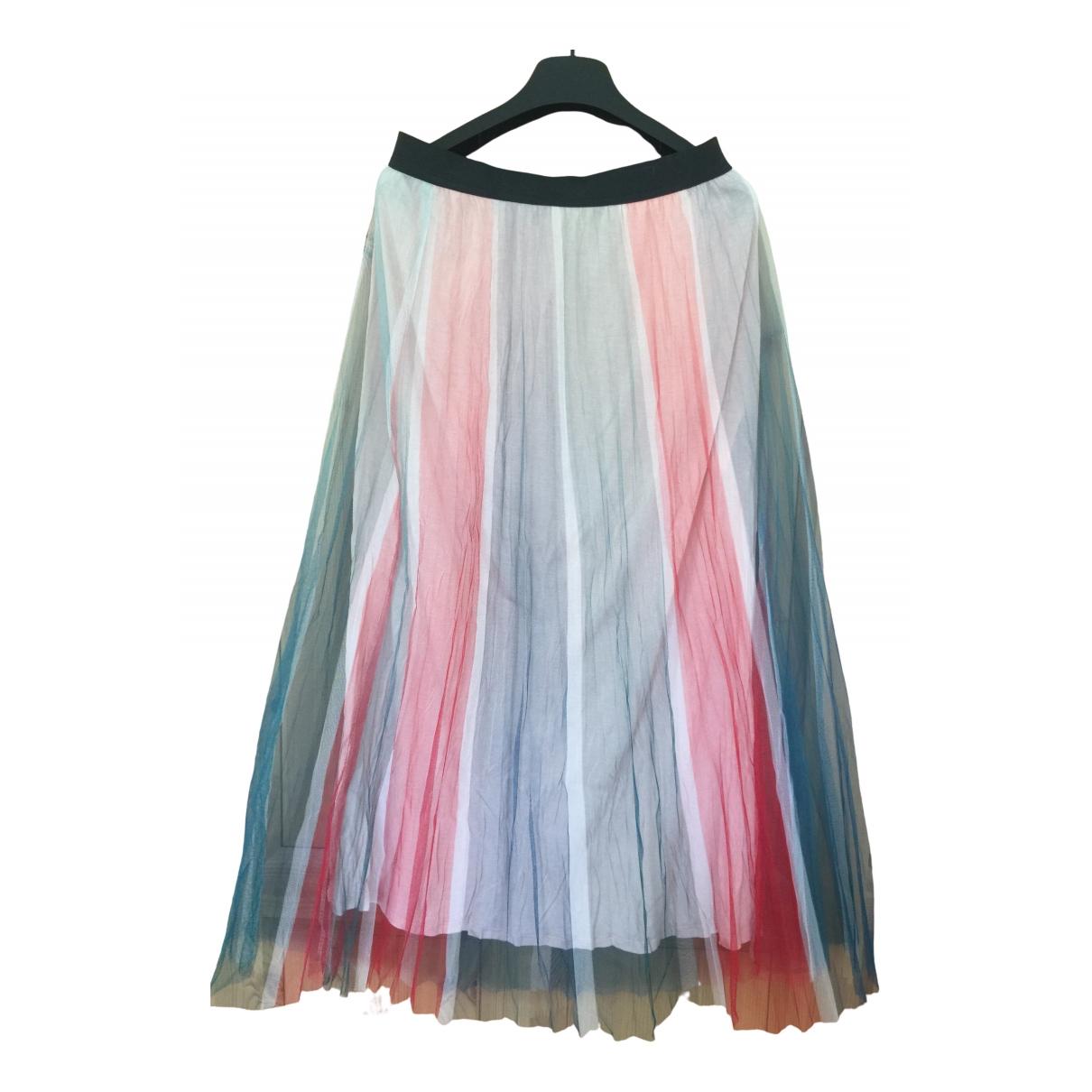 Maje - Jupe   pour femme - multicolore