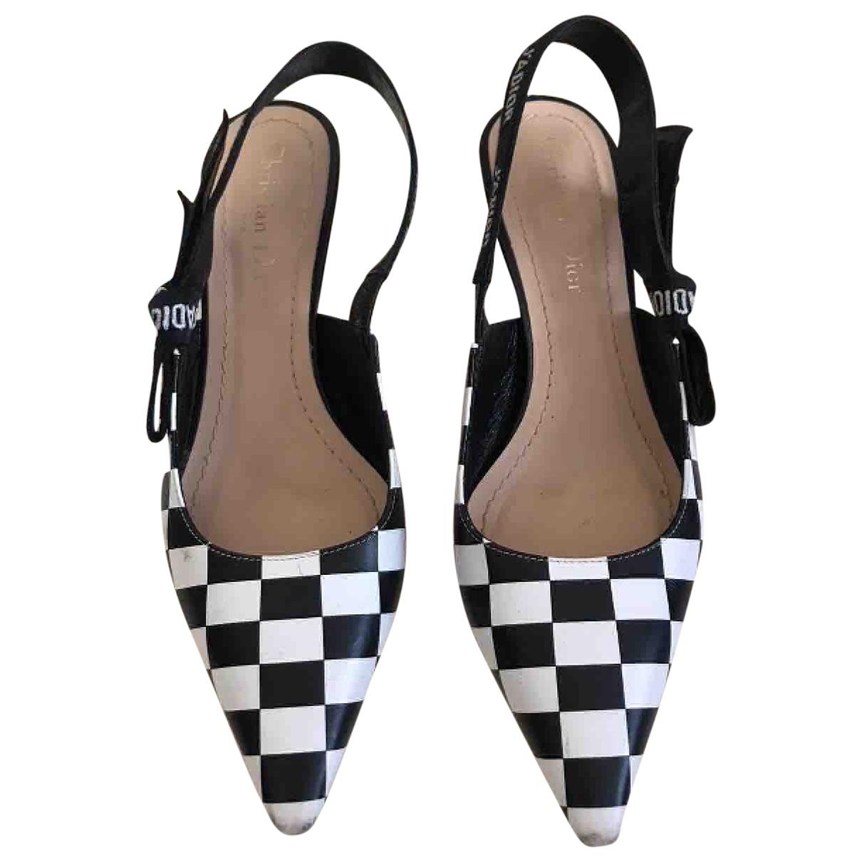 Dior J'adior Black Leather Heels for Women 36 EU
