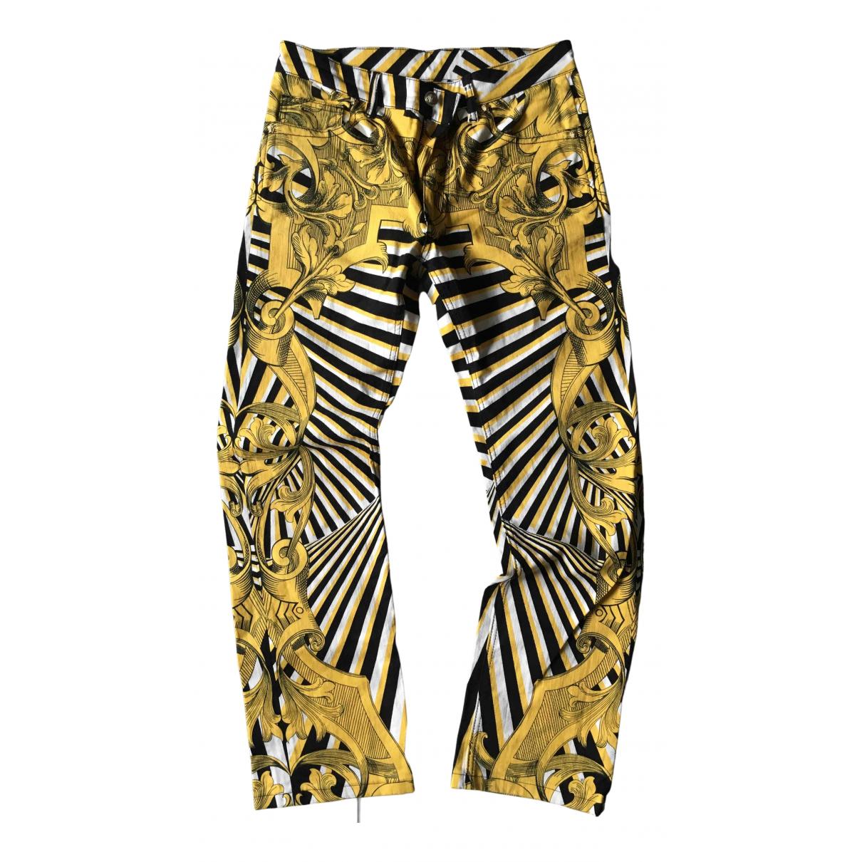 Versace N Multicolour Cotton Jeans for Men 30 US