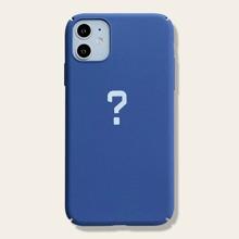 1 Stueck iPhone Schutzhuelle mit Fragezeichen Muster