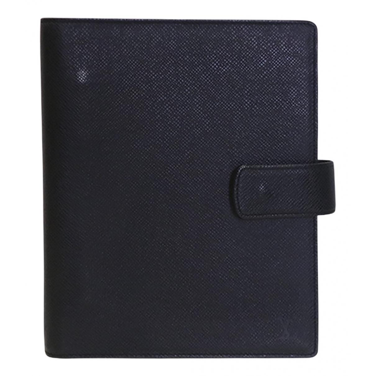 Louis Vuitton - Objets & Deco   pour lifestyle en cuir - noir