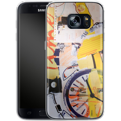 Samsung Galaxy S7 Silikon Handyhuelle - Its Time For von Kaitlyn Parker